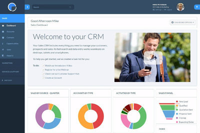 Really Simple Systems - CRM screenshot