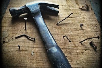 CRM implementation failure - hammer and nails