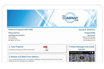 ConnectWise Sell screenshot