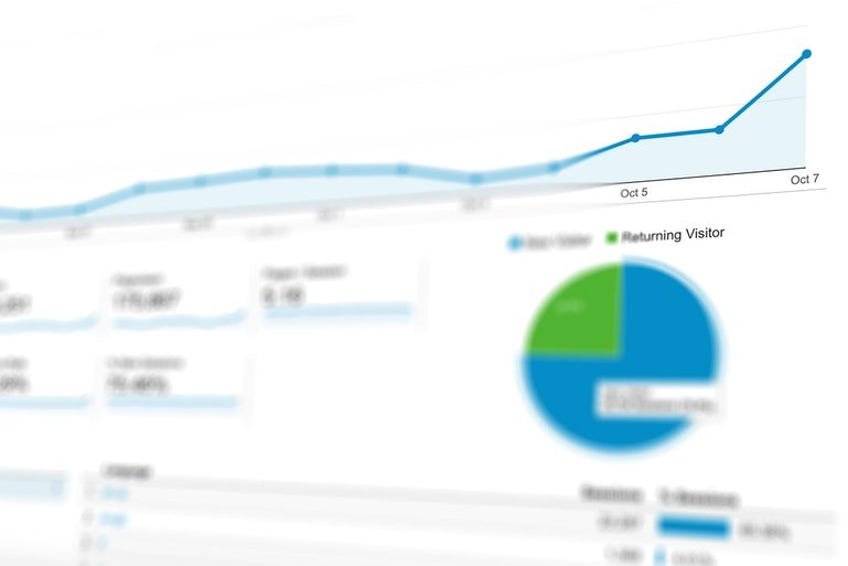 CRM for marketing - analytics screenshot