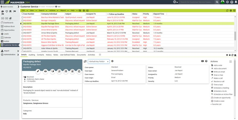 maximizercrm screenshot 1