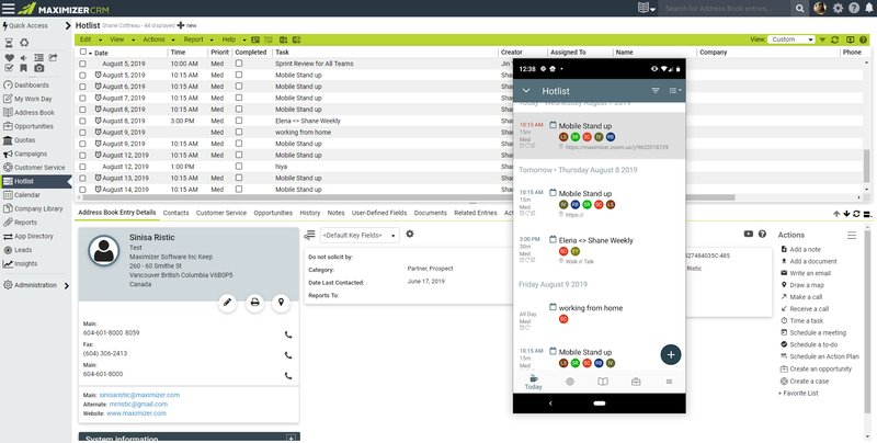 maximizercrm screenshot 3